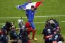 Olivier Giroud, auteur d'un doublé contre l'Islande, dimanche 3 juillet, au Stade de France.