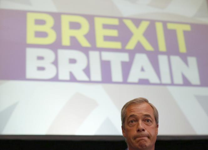 Nigel Farage a démissioné lundi 4 juillet de la tête du United Kingdom Independence Party (UKIP).