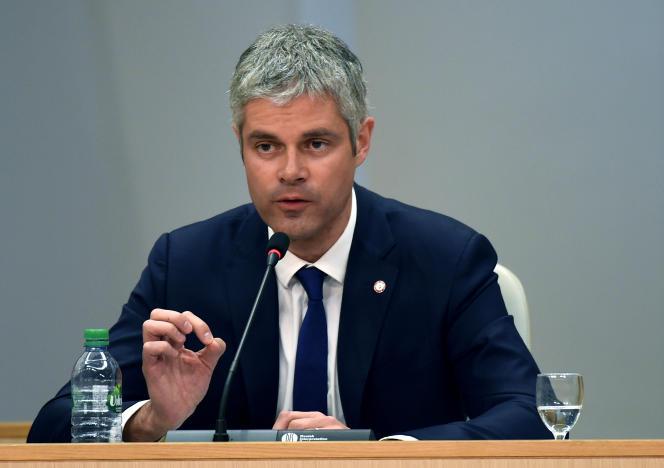 Le président de la régionAuvergne-Rhône-Alpes, Laurent Wauquiez.