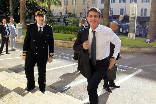 Manuel Valls en Corse, le 4 juillet.