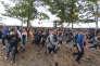 Au Roskilde Festival, mercredi 29 juin, au Danemark.
