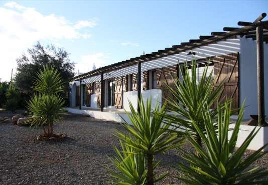 Une ancienne quinta restaurée, au milieu des palmiers et des oliviers