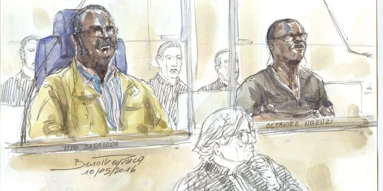 Le 6 juillet 2016, Tito Barahira, 65 ans, et Octavien Ngenzi, 58 ans, aux assises de Paris, ont été condamnés à la réclusion criminelle à perpétuité pour « génocide» et «crimes contre l'humanité». Plus de mille personnes réfugiées dans l'église de Kabarondo furentmassacrées le 13 avril 1994.