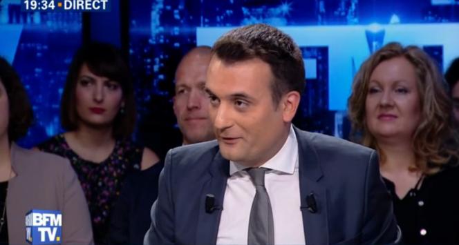Florian Phillipot sur BFM-TV dimanche 3 juillet 2016.