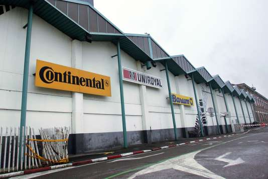 L'usine Continental à Clairoix en 2009.
