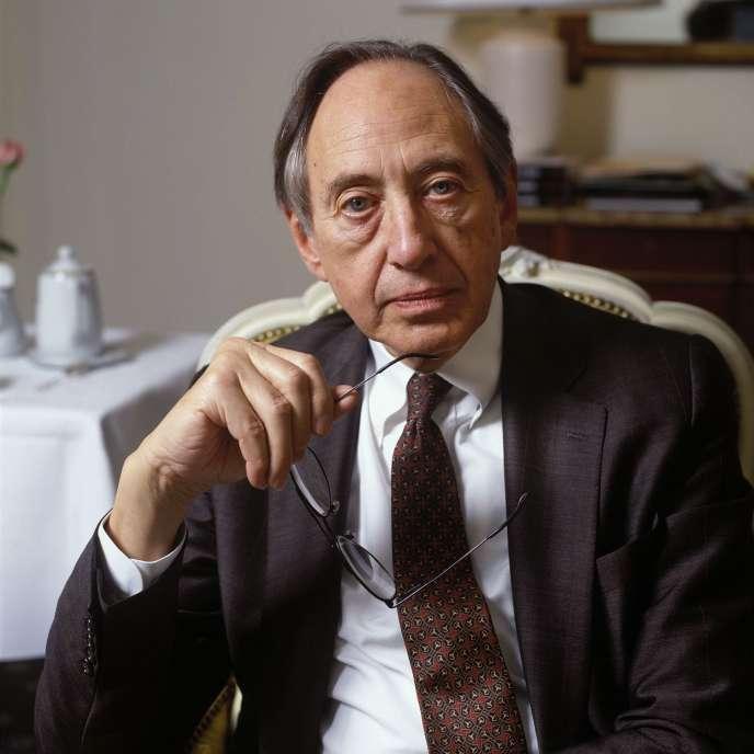 Alvin Toffler, en 1994.