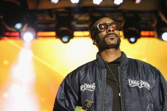Snoop Dog lors d'un concert à New York, en mai 2016.