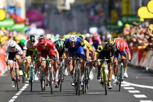 Marcel Kittel s'est imposé au sprint lors de la quatrième étape.