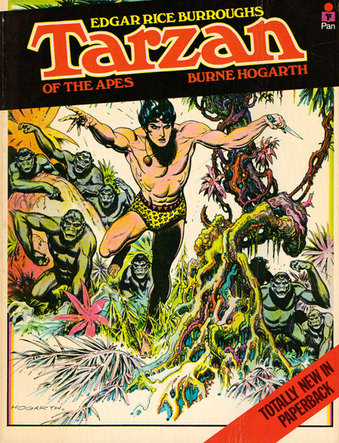 1936 : Tarzan dessiné par Burne Hogarth.