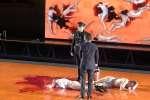 «Les Damnés» mis en scène par Ivo von Hove au festival d'Avignon avec la Comédie Française