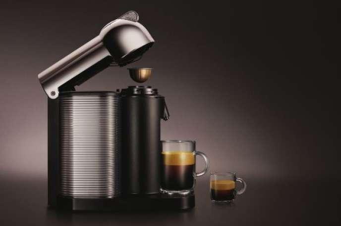 La nouvelle machine à café Nespresso, Vertuo.