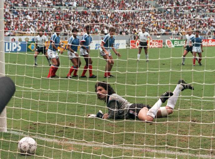 Le but d'Andreas Brehme.