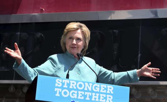 Discours de la candidate démocrate Hilary Clinton à Atlantic City le 6 juillet 2016