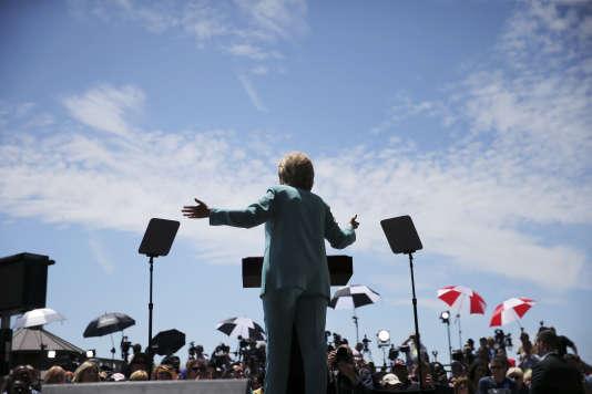 Hillary Clinton à Atlantic City, le 6 juillet 2016.