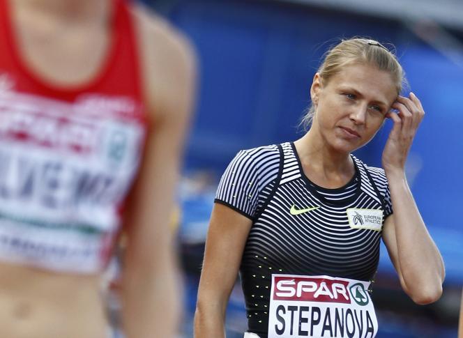 Ioulia Stepanova en juillet à Amsterdam.