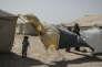 Plus de 23 000 familles sont arivées dans le camp installé dans le désert de l'Anbar, dans l'ouest irakien où les températures frôlent les 50°C.