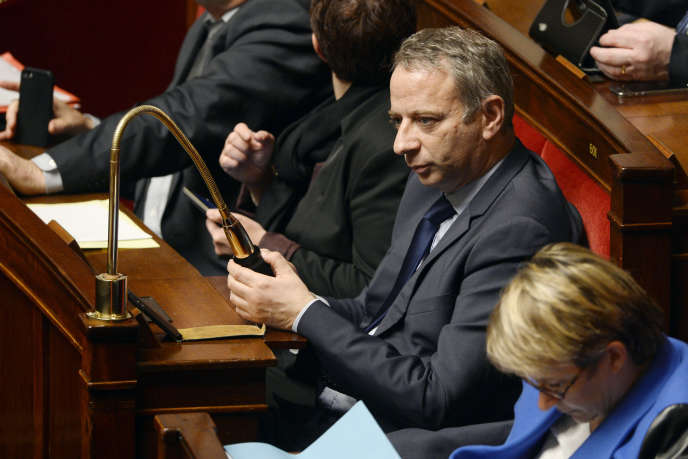 Laurent Baumel, à l'Assemblée nationale, en 2014.