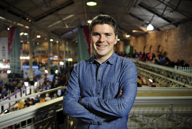 John Collison, cofondateur de Stripe.