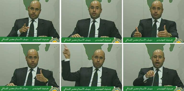 Extraits du discours télévisé au peuple libyen de Saif Al-Islam, le 20 février 2011. Un tournant dans le conflit.