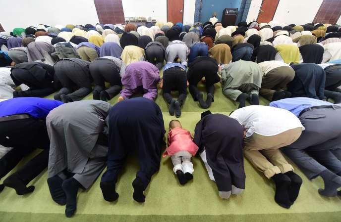 Une mosquée de Californie, durant le ramadan.
