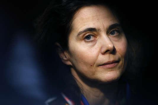 La sociologue Nathalie Mons, présidente du Conseil national d'évaluation du système scolaire (CNESCO) – janvier 2014.