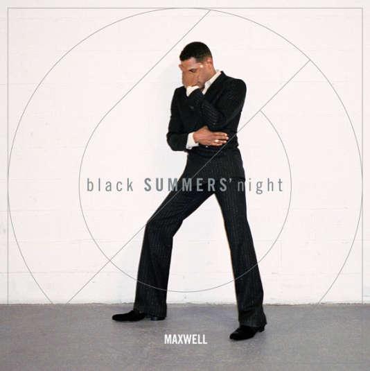 Pochette de l'album« blackSUMMERS'night», de Maxwell.