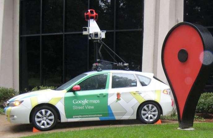 Un véhicule de Google destiné à alimenter le service Street View a été incendié par un homme en juin.
