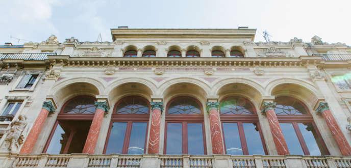 La façade ducentre d'art parisien laGaîté-Lyrique.