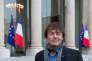 Nicolas Hulot au aplais de l' Elysee à Paris le 6 décembre 2012.