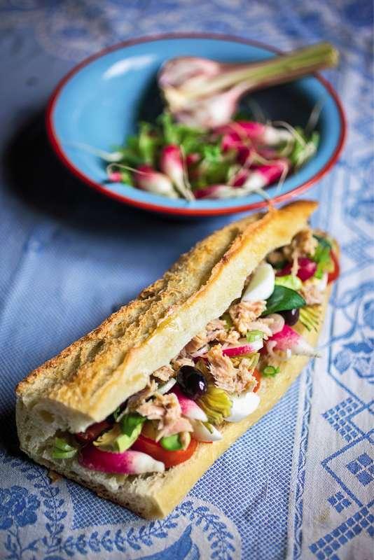 Le pan-bagnat,« une salade niçoise portative», pour l'auteure Mayalen Zubillaga.