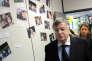 L'ancien PDG de France Télécom, Didier Lombard, se rend, en2009, dans les locaux d'une entreprise d'Annecy-le-Vieux, dont un salarié s'est suicidé.