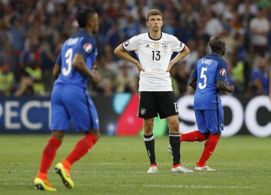 Thomas Müller, perplexe, le 7 juillet 2016.
