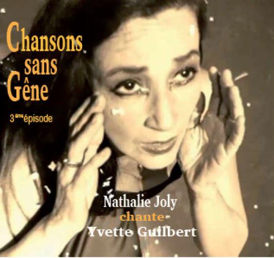 Pochette de l'album« Chansons sans gêne», de Nathalie Joly.