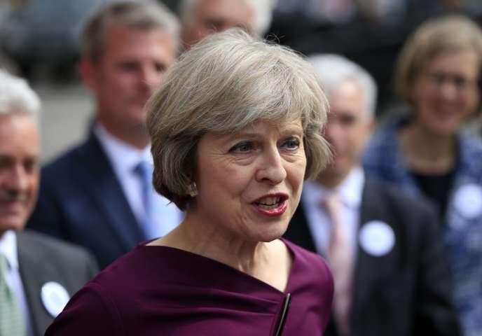 Theresa May, la première ministre du Royaume-Uni.