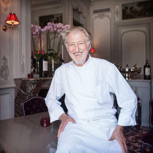 Pierre Gagnaire à «La Grande Maison de Bernard Magrez», le6 juillet 2016 à Bordeaux.