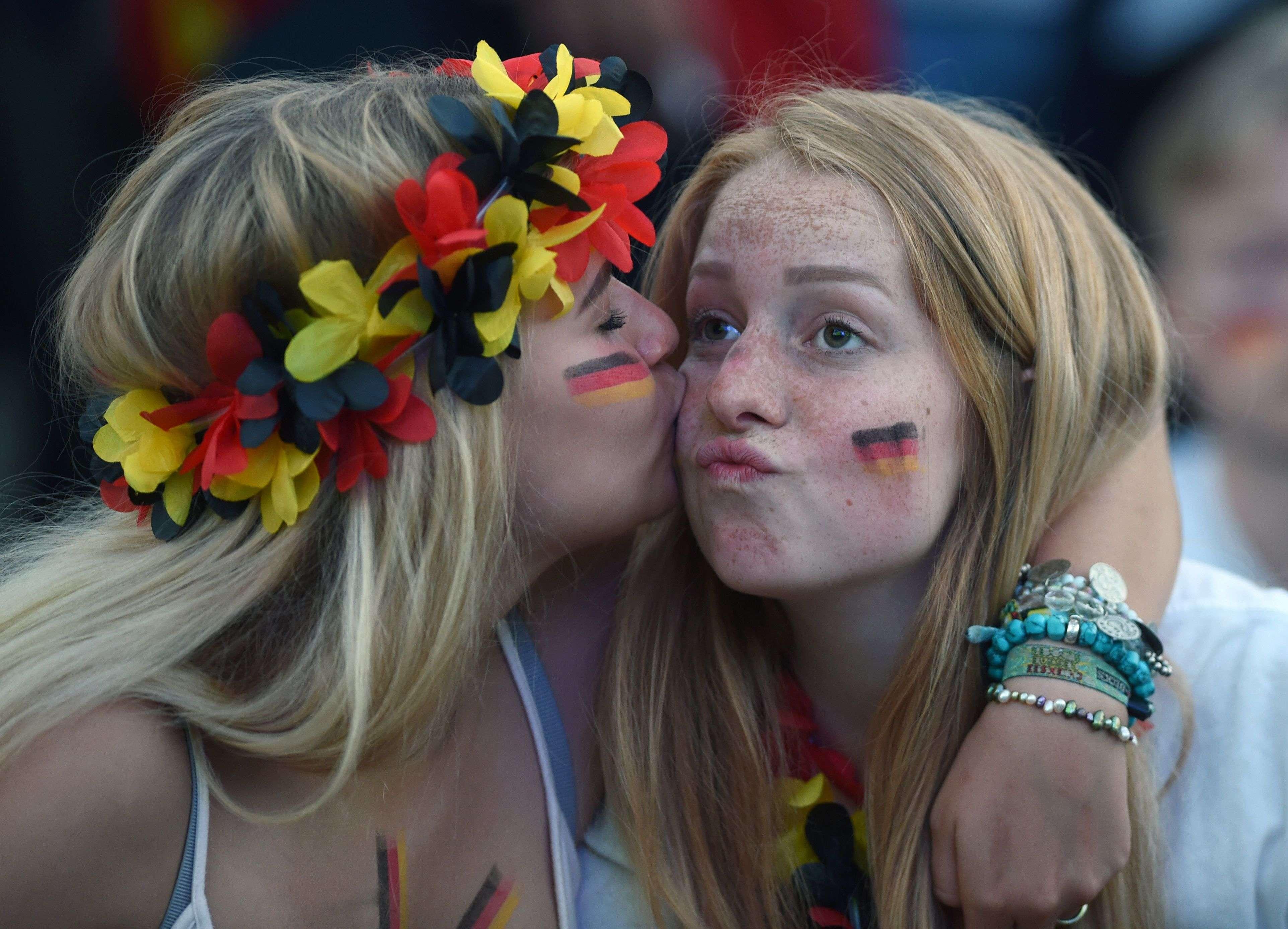 Les supporteurs allemands pourront se consoler par la bonne prestation de leurs joueurs qui auraient mérité de sauver l'honneur.