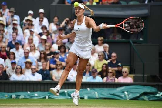 Angelique Kerber s'est qualifiéepour la deuxième fois de sa carrière pour une finale de Grand Chelem après avoir remporté en début d'année celle de l'Open d'Australie face à… Serena Williams.