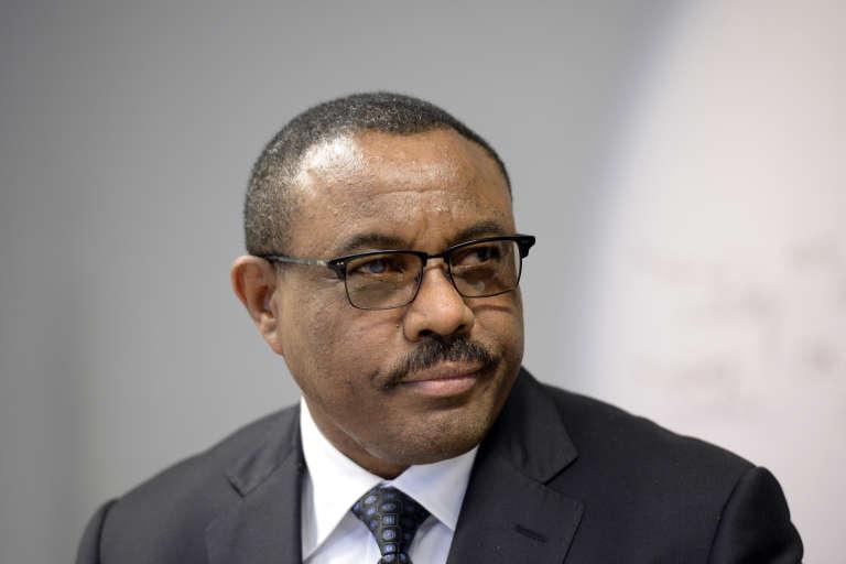 le premier ministre éthiopien Hailemariam Desalegn en juin 2016.