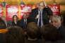 Julien Dray (PS) lors du lancement de la Belle Alliance populaire de Jean-Christophe Cambadélis, à Paris, le 13 avril.