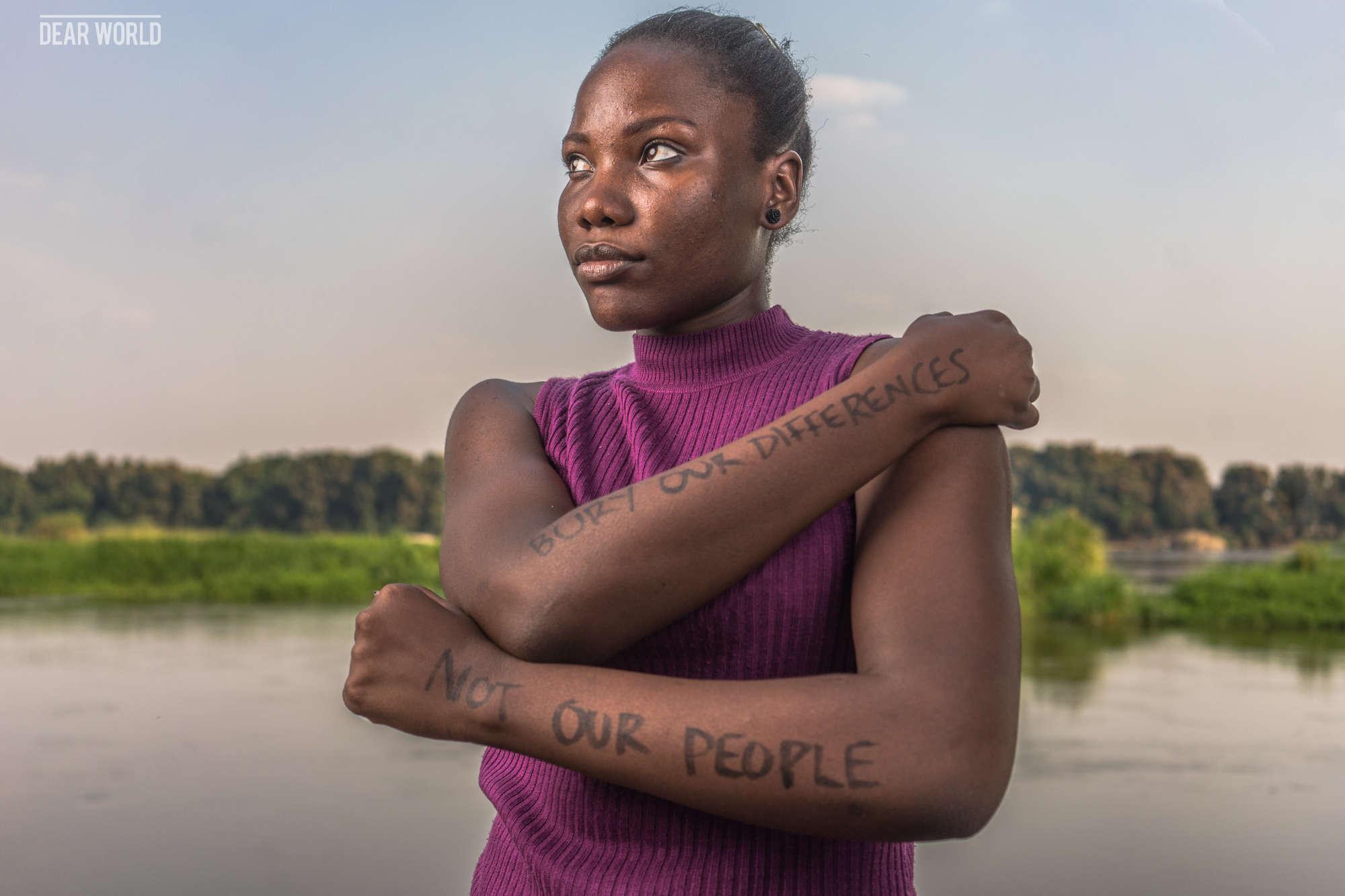 Ludia Mukhtar, à Juba :« Enterrons nos différences, pas notre peuple».