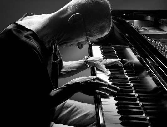 Le pianiste américain donnait le 6 juillet son unique concert en France, en solo.