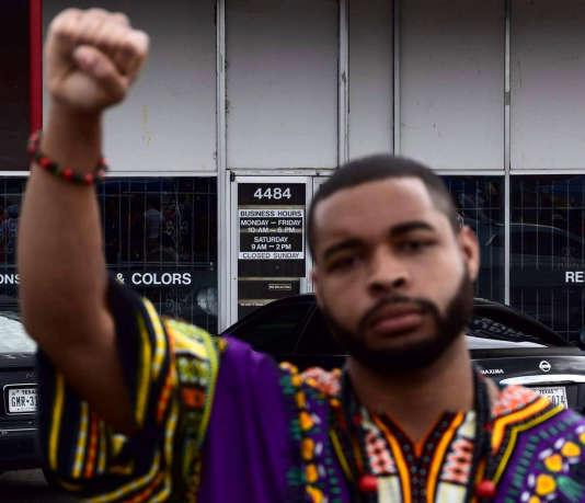 Micah Johnson, le principal suspect de la fusillade de Dallas qui a coûté la vie à cinq policiers, le 7 juillet.