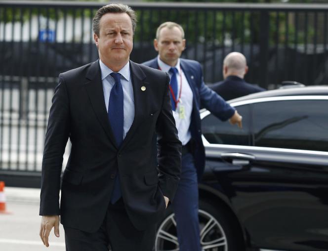 Le premier ministre britannique a annoncé son départ le jour du Brexit, le vendredi 23 juin.