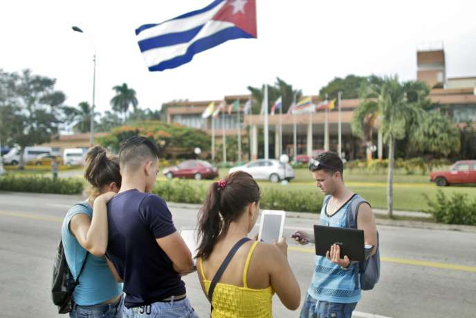 A Holguin, dans le sud-est de l'île de Cuba, en septembre 2015