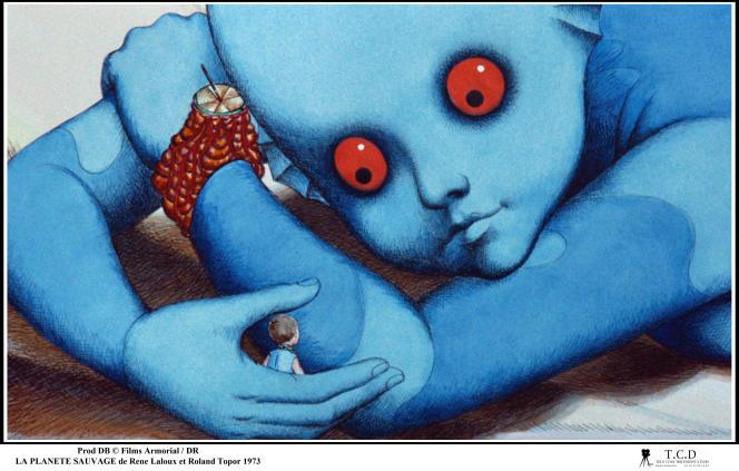 « La Planète sauvage» (1973), de René Laloux.