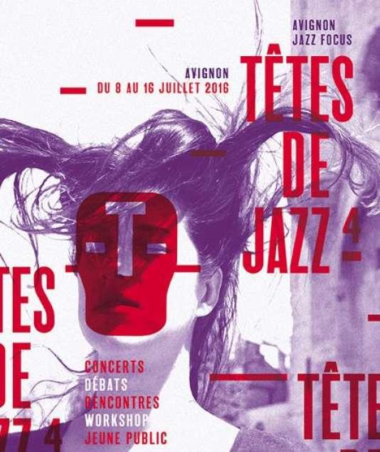Affiche du festival Têtes de jazz, à Avignon.