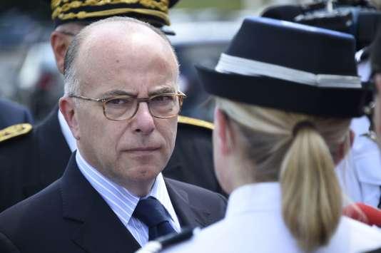 Le ministre de l'intérieur Bernard Cazeneuve le 8 juillet.