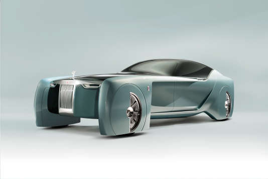 La future Rolls-Royce 103EX.