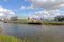«Le niveau des impôts locaux peut expliquer pourquoi les Caennais s'installent dans les communes voisines. Côté taxe d'habitation, le taux s'établissait à 25,89 % en 2015, contre 14,27 % à Mondeville ou 14,14 % à Ouistreham» (Photo: tribunal de grande instance, fraîchement installé sur la pointe de la presqu'île).