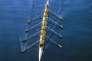 Aviron sur le Severn, fleuve côtier du Maryland (Etats-Unis).